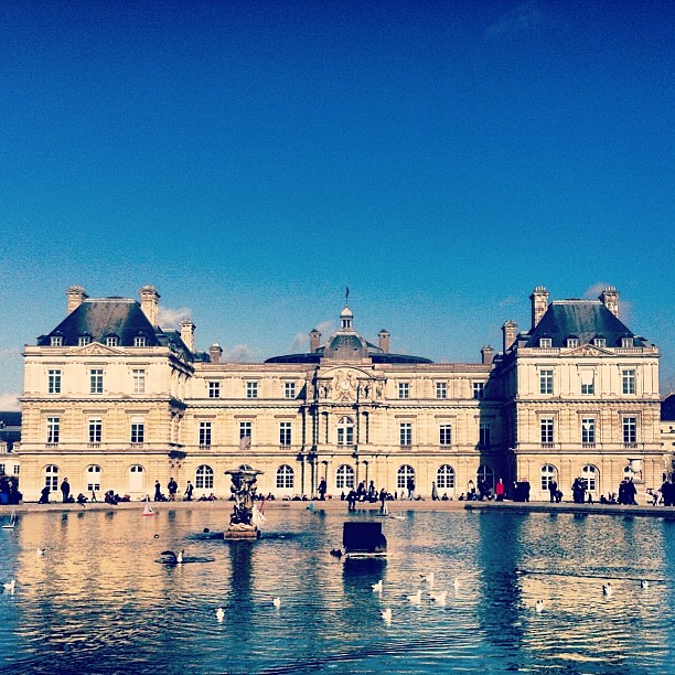 Palais du Luxembourg #travel #paris #france