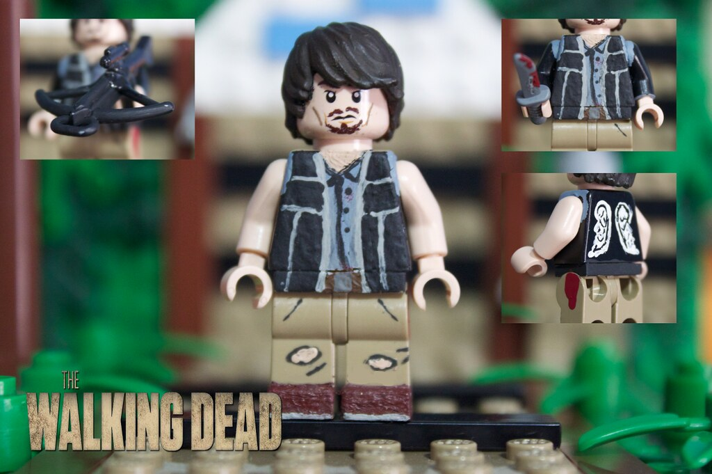 lego the walking dead daryl dixon i decided to totally. Black Bedroom Furniture Sets. Home Design Ideas