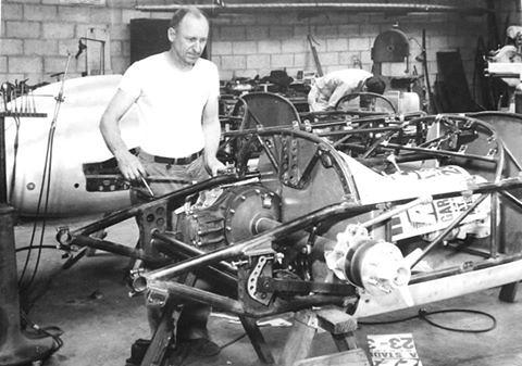 Car Part Pro >> Kuzma, Eddie at his shop | Famed race car builder, and artis… | Flickr