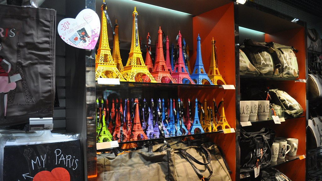 official souvenirs eiffel tower paris the eiffel tower flickr. Black Bedroom Furniture Sets. Home Design Ideas