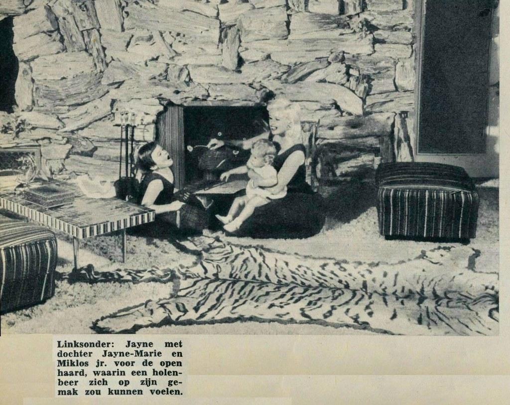 Revue 1961 Ill Jayne Mansfield Int Pink Palace D En
