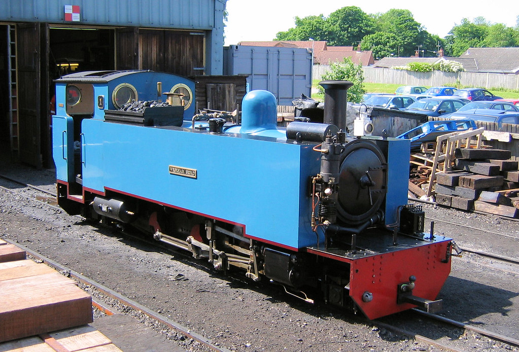 Bure Valley Railway No 1 Wroxham Broad Stands Outside