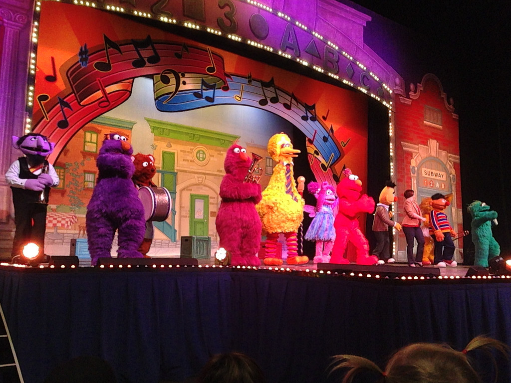 Sesame Street Live | oanababy | Flickr