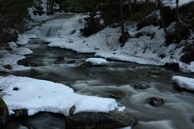 Beecher Creek Falls in Winter, Edinburg, N.Y.