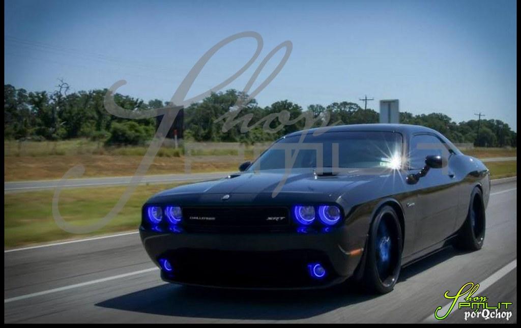 Shoppmlit Oracle Ccfl Dodge Challenger Headlight Angel Eye