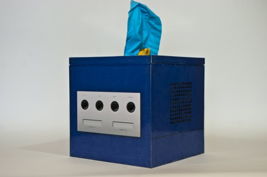 Gaming & retro tissue boxes by kanojo - Nintendo Game Cube
