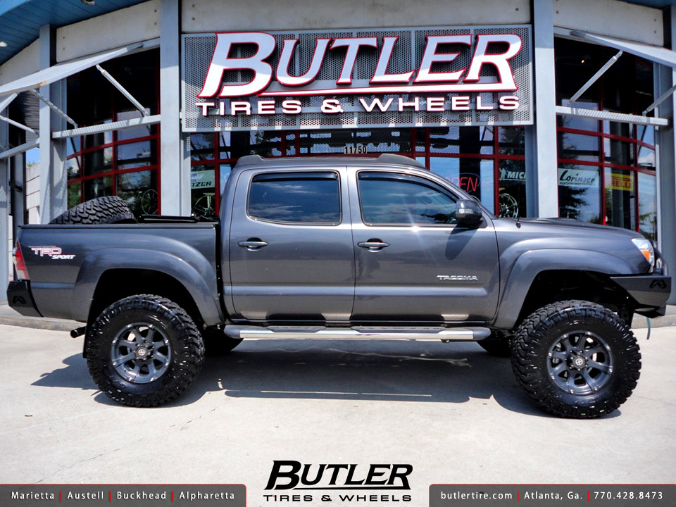 Toyota Tacoma 2013 White >> Toyota Tacoma with 17in ATX Ledge Wheels | Additional Pictur… | Flickr