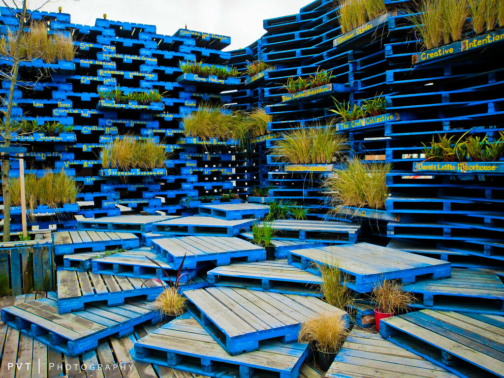 Pallet Stack At Pavilion Paul Ta Flickr