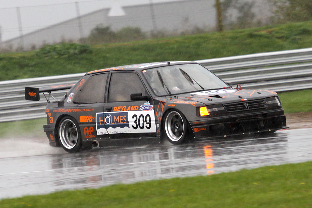 peugeot 309 gti turbo danny ricky morris snetterton flickr. Black Bedroom Furniture Sets. Home Design Ideas