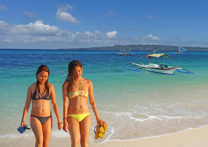 boracay beach naked girls