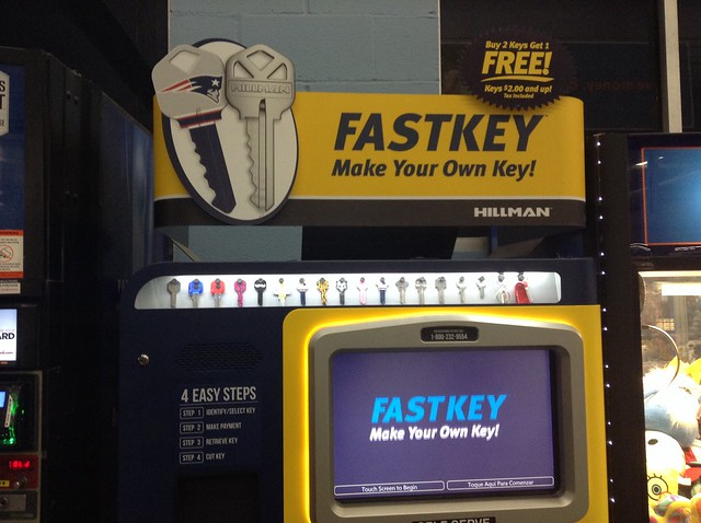 fast key machine walmart