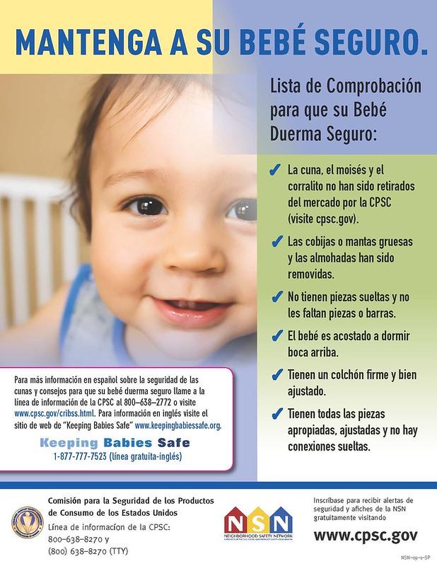 Mantenga a su bebé seguro