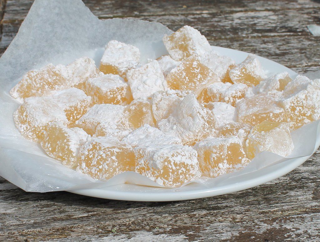 elderflower turkish delight