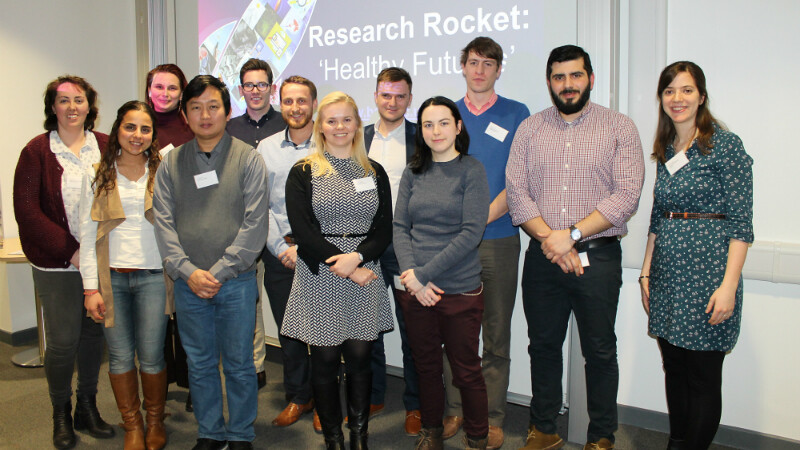 Speakers at this year's Research Rocket 2017