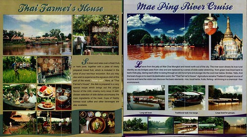 Brochure Mae Ping River Cruise Chiang Mai Thailand 2