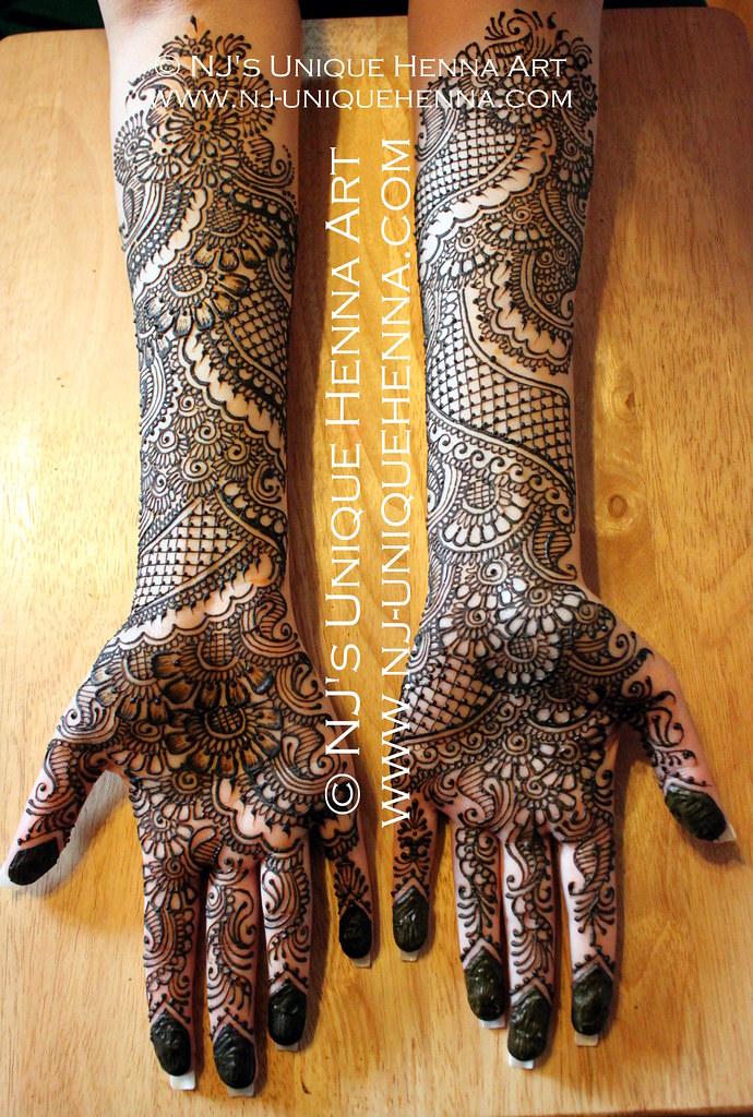 Bridal Mehndi Rates Nj : Nada s bridal henna nj unique art