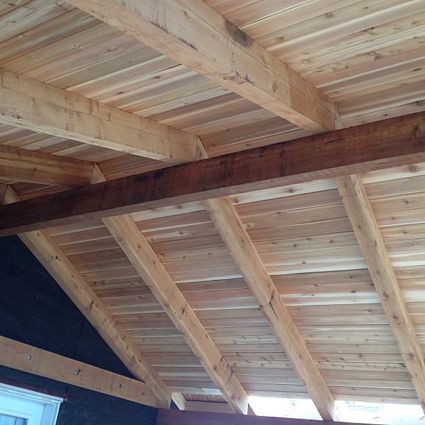 Tongue and groove roof decking home design ideas and for Tongue and groove roof decking