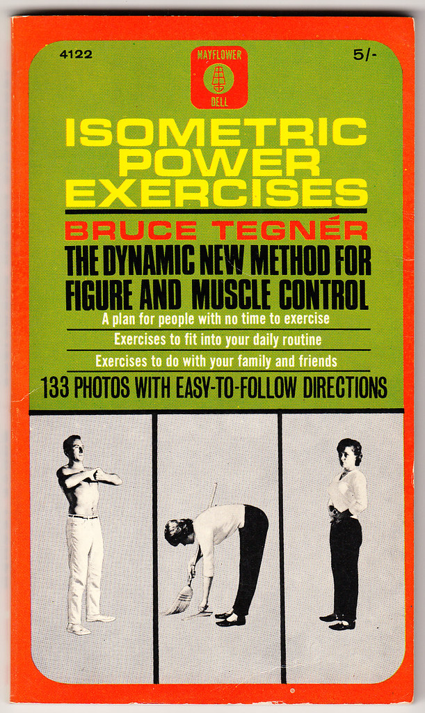 Isometric Power Exercises by Bruce Tegner | Vintage ...
