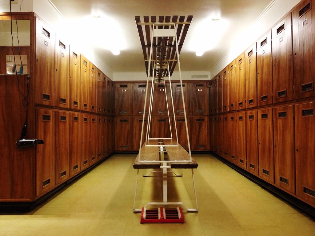 Vintage Tennis Club Locker Room Web Prints