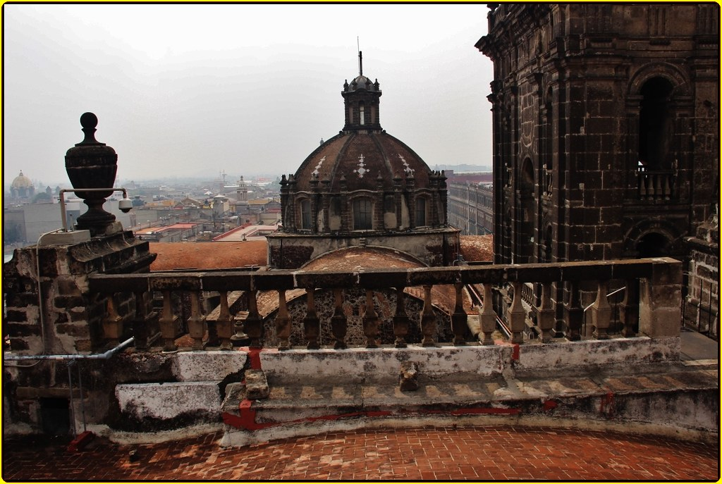 campanario catedral metropolitana ciudad de m u00e9xico