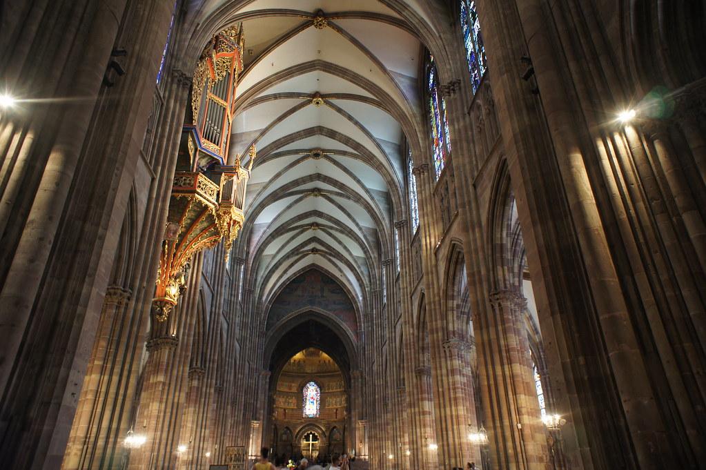 Strasbourg interior | Strasbourg cathedral interior ...