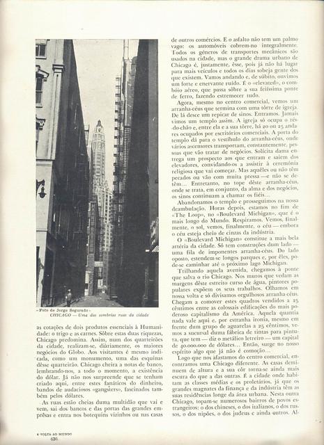 A Volta ao Mundo, Ferreira de Castro, Nº 15, 1944 - 47