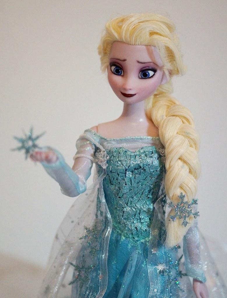 Snow Queen Elsa Doll Elsa The Snow Queen Ooak Doll