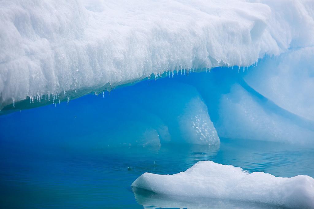 Antarctica Ice In Paradise Harbor Steve Mcclanahan