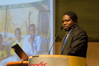 Appolinaire Djikeng at the Annual Bioforsk Conference in Norway