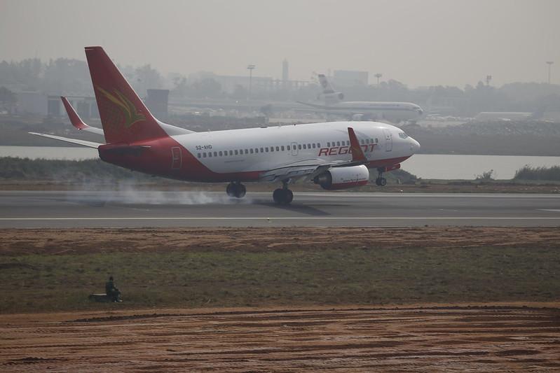Boeing 737 in Bangladesh