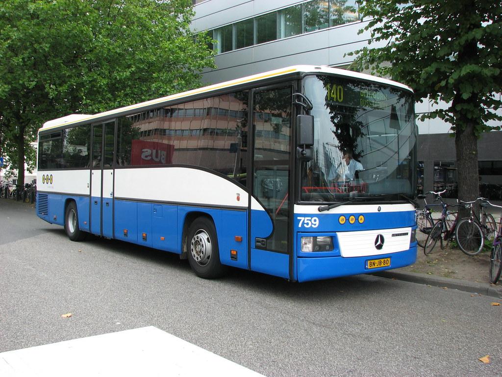 Bba bus 759 utrecht cs bba bus utrecht cs route 140 to for Mercedes benz long beach service department