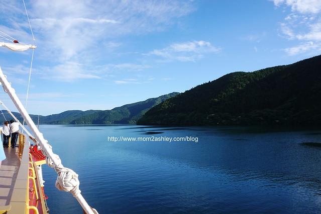 Cruising on Lake Ashi, Hakone