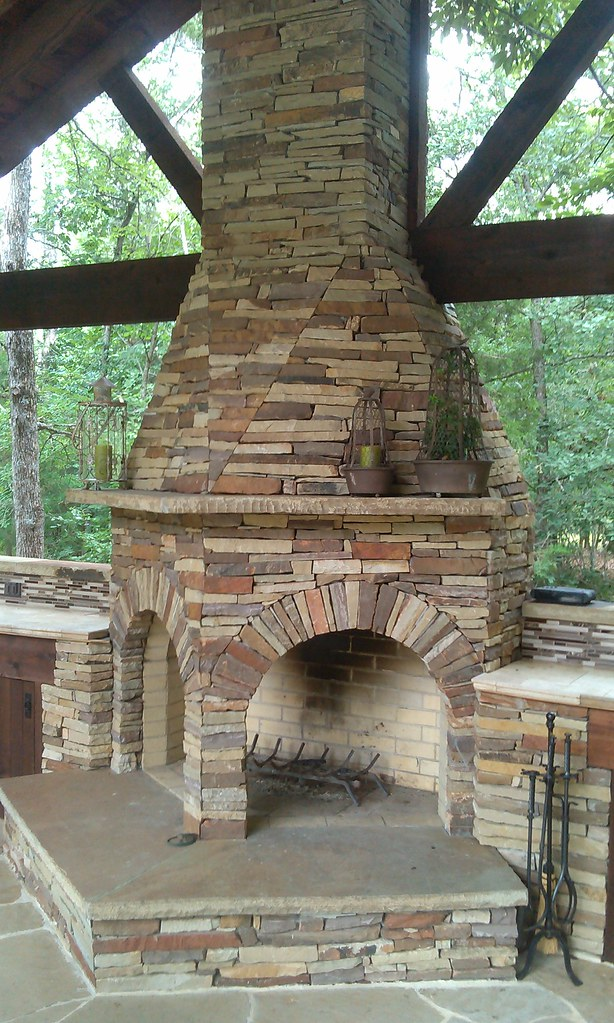 Double Sided Fireplace Wesley Graves Designs Flickr
