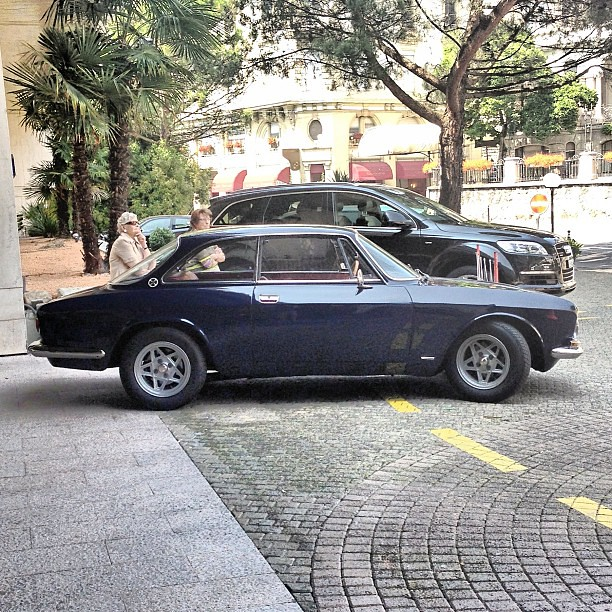 Alfa Romeo 1750 GTV Bertone. 1969. #alfaromeo #montreux #s