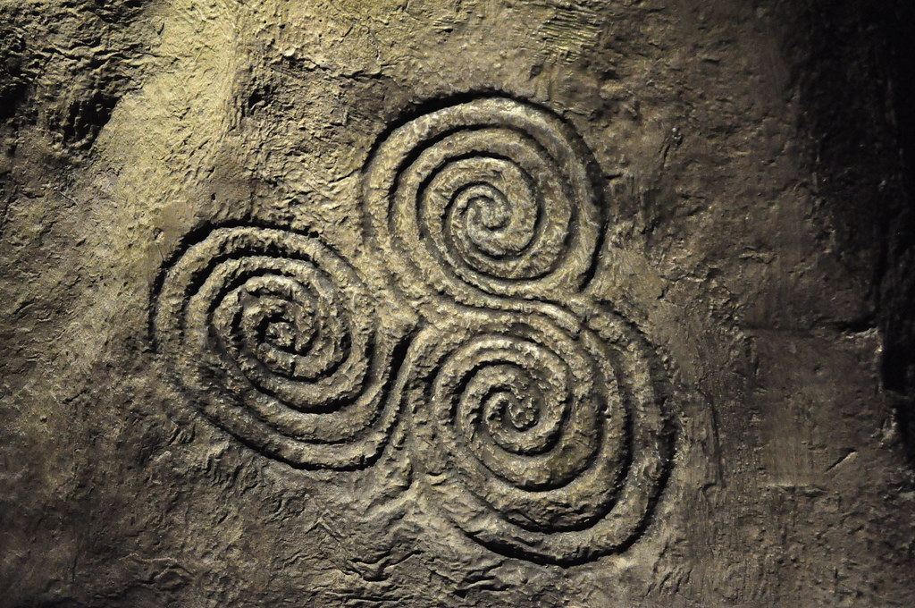 Celtic spiral. | Again, a detail from the life-size ...