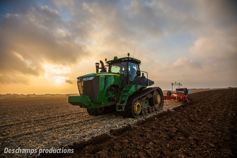 John Deere 9560 Rt Deschamps Productions Flickr