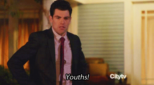 Schmidt new girl youths