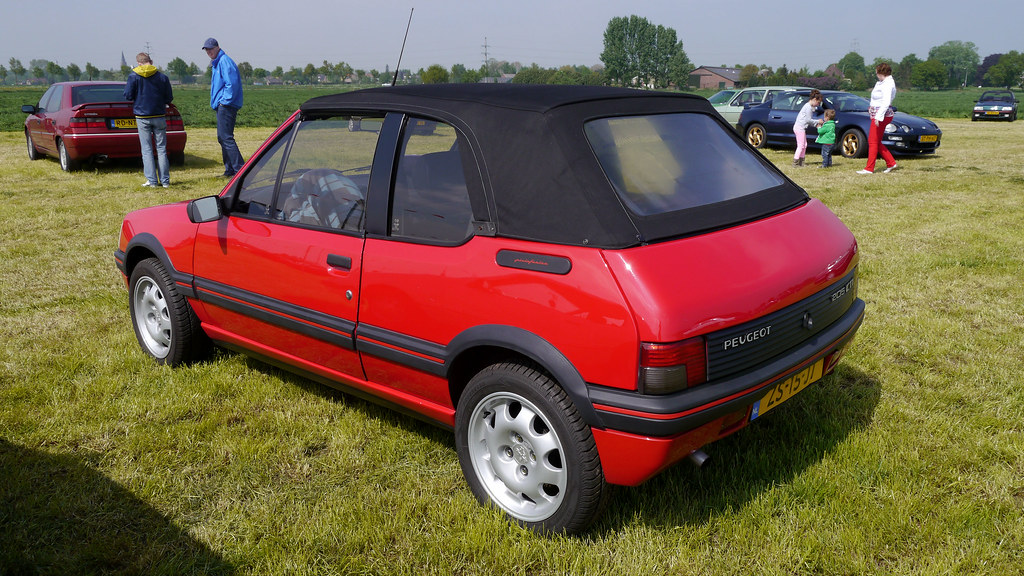 peugeot 205 cti 1 9 cabriolet 1986 94 opron flickr. Black Bedroom Furniture Sets. Home Design Ideas