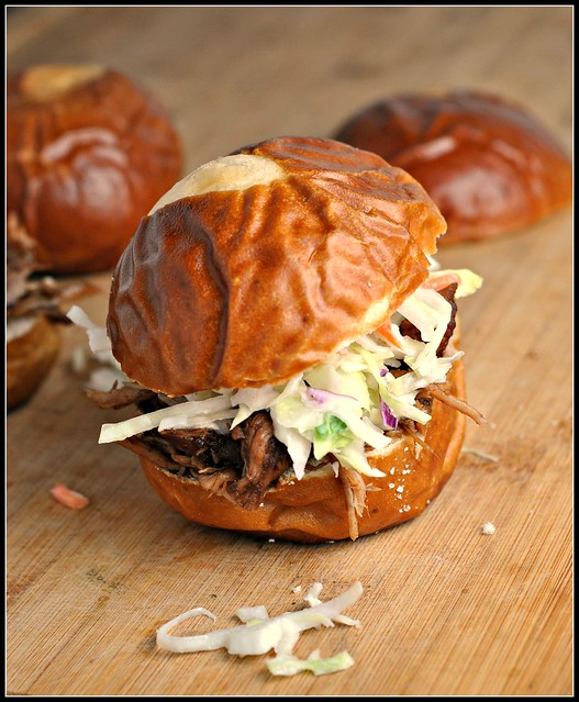 Balsamic Vinegar and Honey Pulled Pork Sliders 3