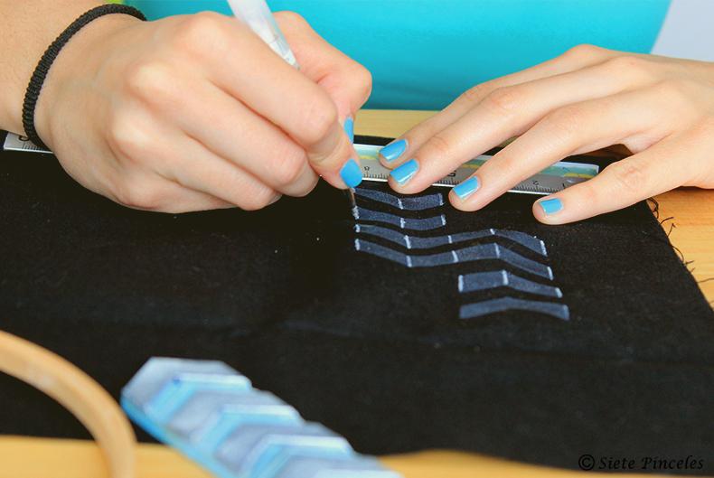 Monedero DIY bordado