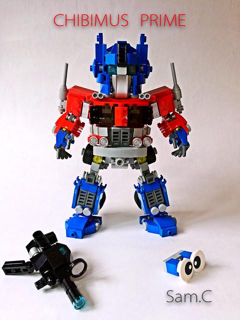 LEGO Transformers: Chibimus Prime- Full