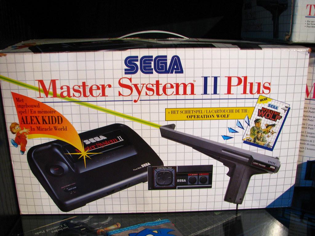 Sega master system ii plus set dennis vallaeys flickr - Console sega master system 2 ...