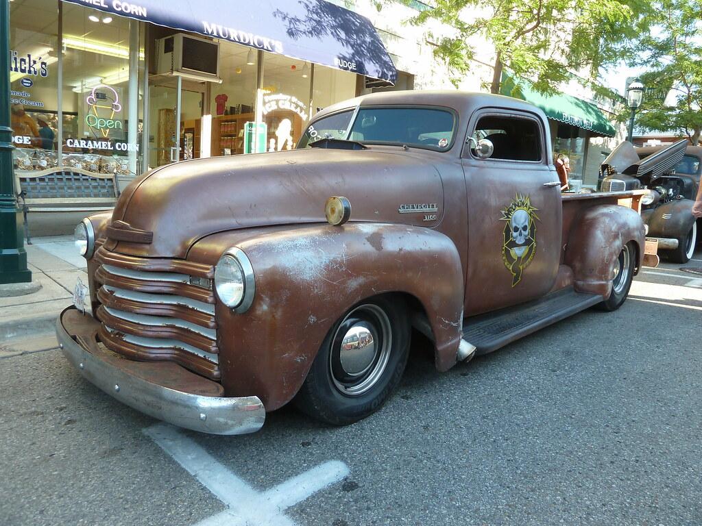 Pickup 1949 chevrolet pickup : Chopped 1949 Chevrolet 3100 1/2 Ton Pickup Truck Rat Rod   Flickr