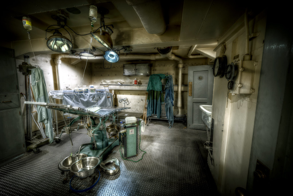 The Operating Room Une 25th 2013 Aboard The Uss Salem