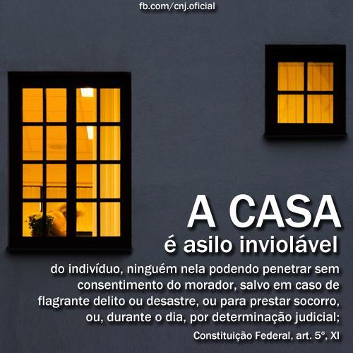 Asilo inviol vel permiss o de acusado n o autoriza pol cia for Asilo in casa