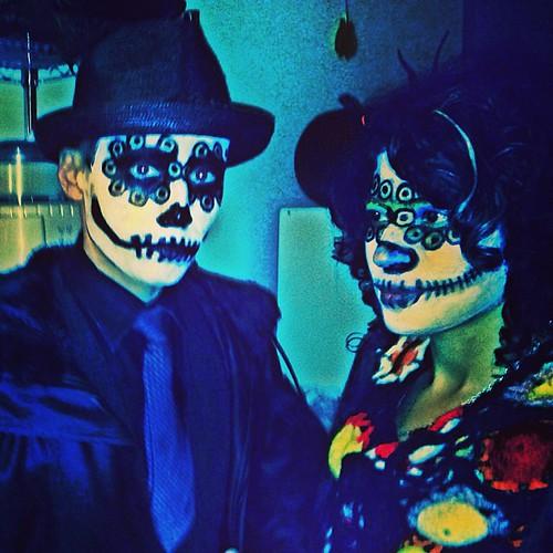 Couples Halloween Costumes Makeup Couple Makeup Costume