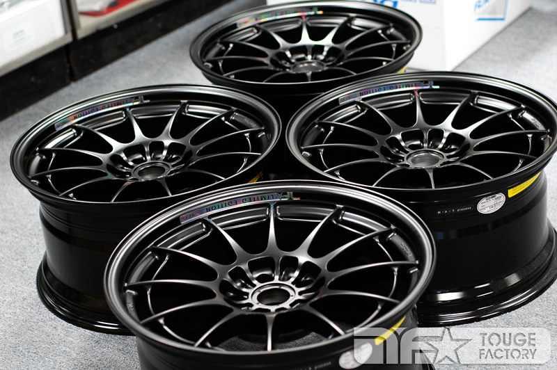 For sale: Touge Factory Enkei NT03+M - Matte Black Limited ...