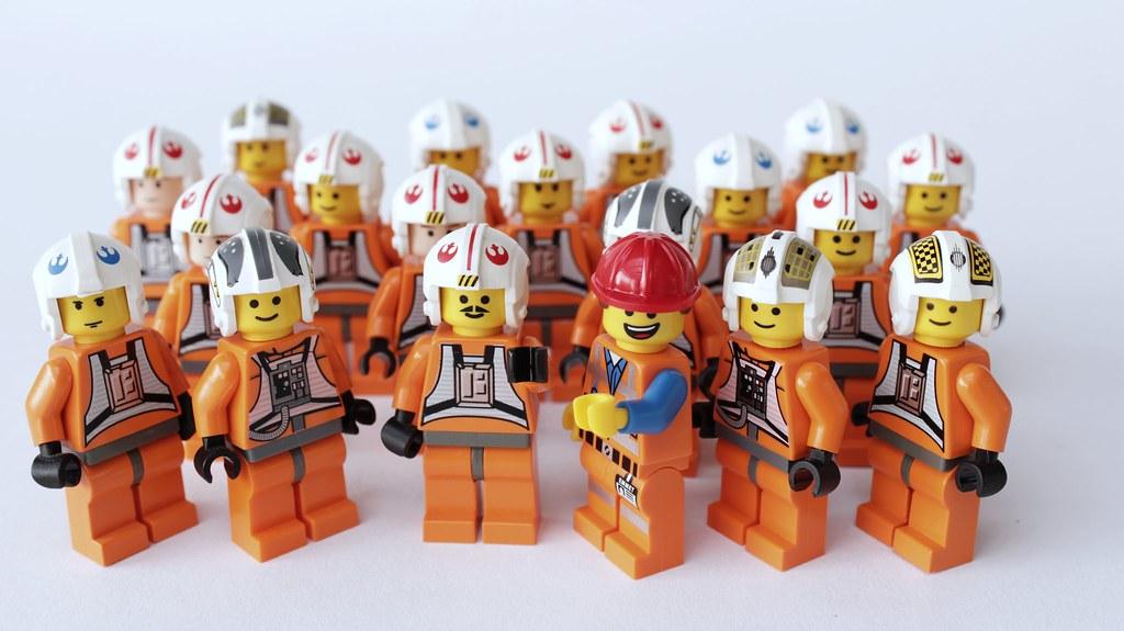 Rebel >> Rebel Pilots are Awesome! | Brick Police | Flickr