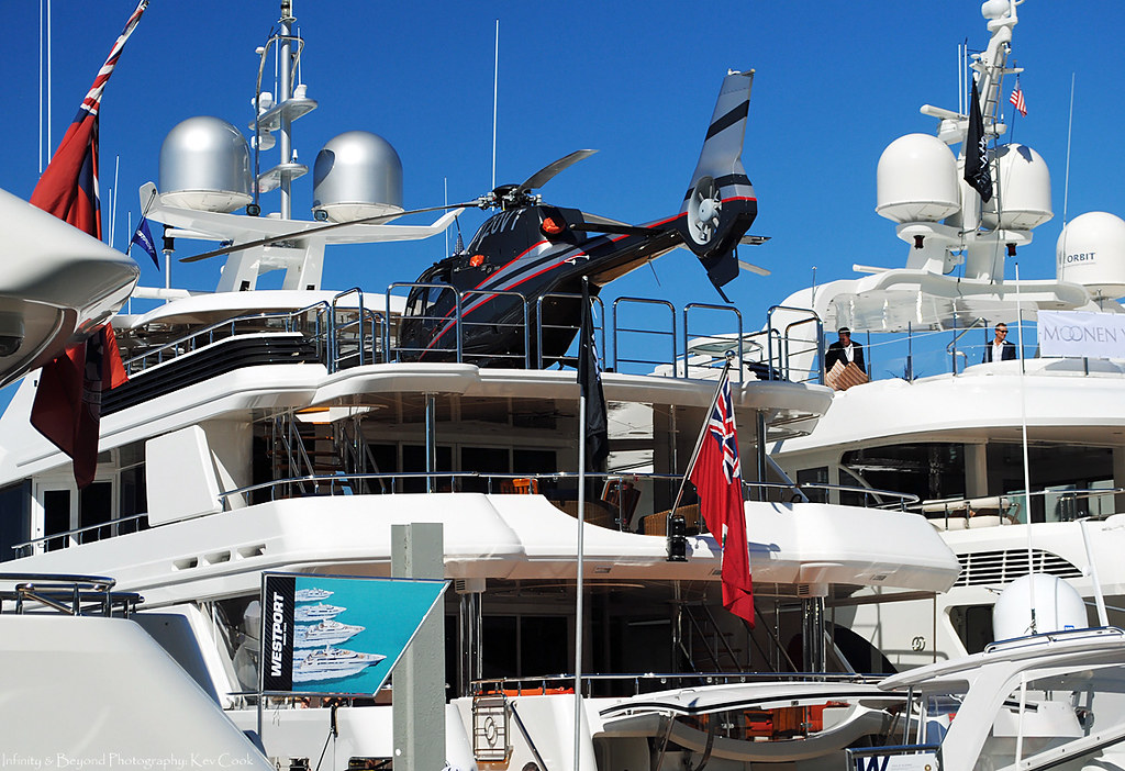 Chopper Onboard The Westport Mega Yacht Quot Vango Quot The