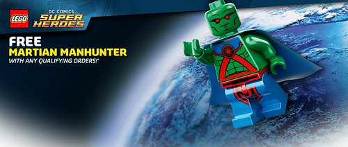 5002126 Martian Manhunter Minifigure